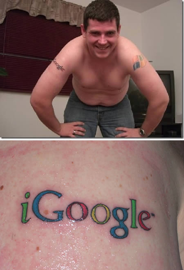 Tatuagem Google (Foto: Reprodução)