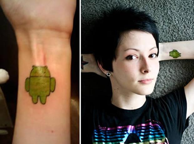 Tatuagem Android (Foto: Reprodução)