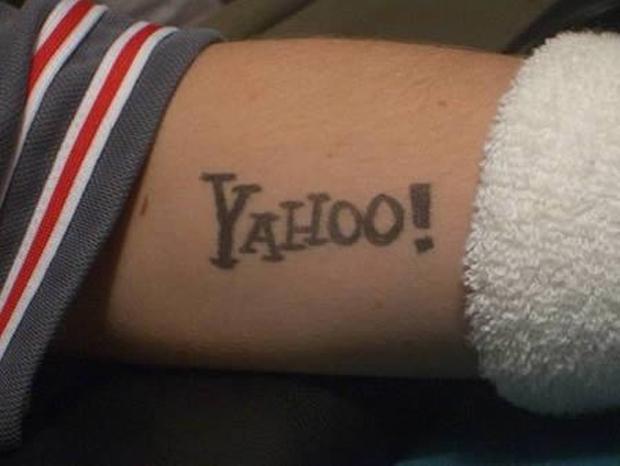 Tatuagem Yahoo (Foto: Reprodução)