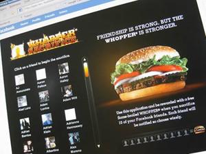 Hambúrguer de graça  (Foto: Reprodução)