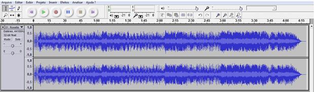 Audacity: programa gratuito de edição de áudio (Foto: Reprodução)