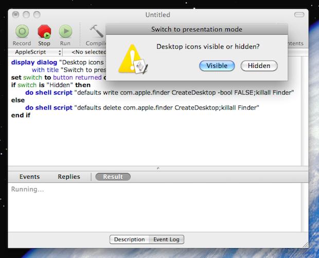 Editor de script do Mac OS (Foto: Reprodução/TechTudo)