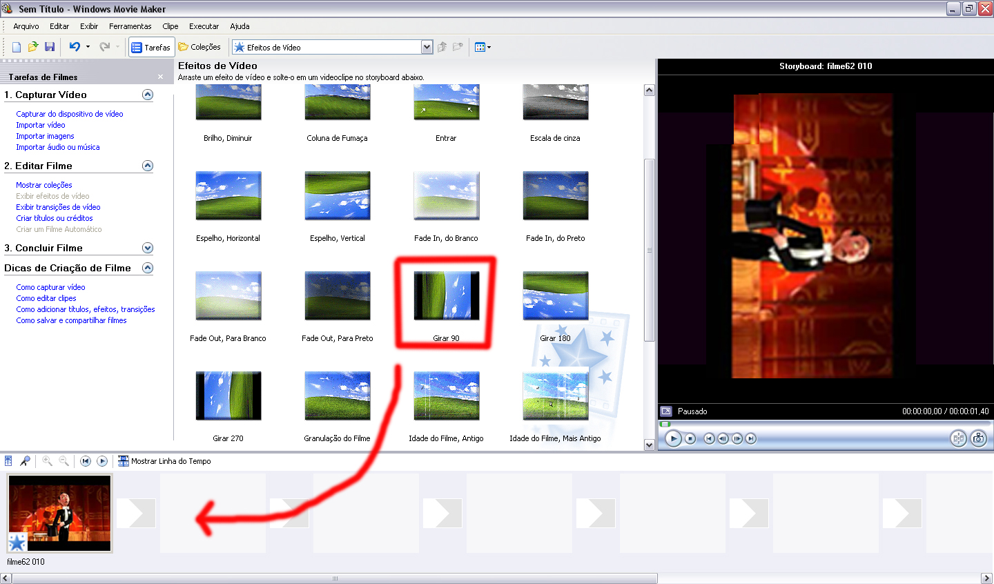 Como girar um vdeo usando o windows movie maker dicas e movie maker ccuart Images