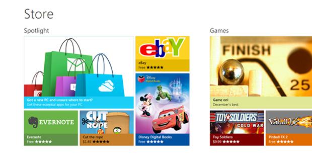 Windows Store (Foto: Divulgação)