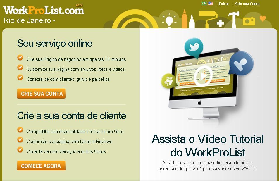 WorkProList (Foto: Reprodução)