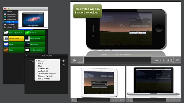 Projetos editados no Camtasia para dispositivos móveis. (Foto: Reprodução/ lifehacker)