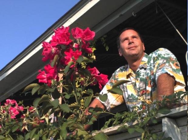Bryan Harvey, fotojornalista da National Geographic, faz sua foto nos Outer Banks, da Carolina do Norte. (Foto: Reprodução)
