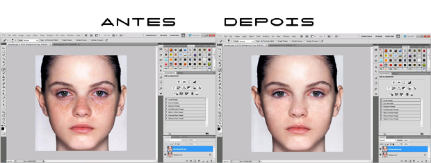 Processo rápido e fácil para tirar manchas no Photoshop (Foto: Reprodução/Isabela Catão)