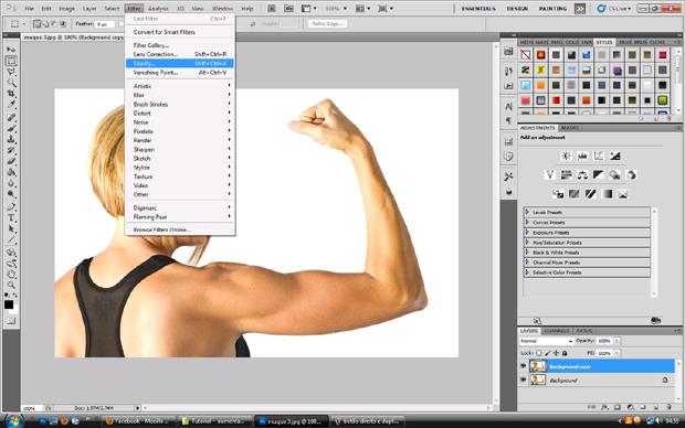 Brush no Photoshop (Foto: Reprodução/Isabela Catão)