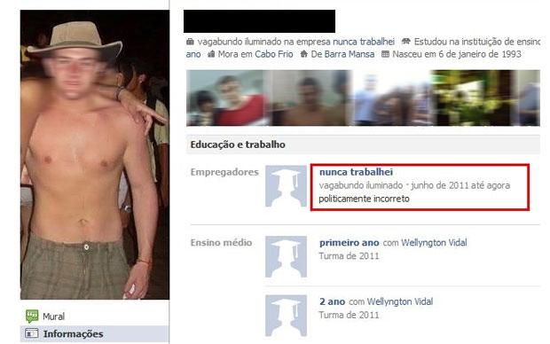 Facebook fail (Foto: Reprodução)