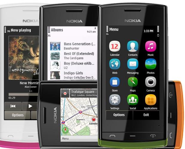 Nokia 500 (Foto: Arte/TechTudo)