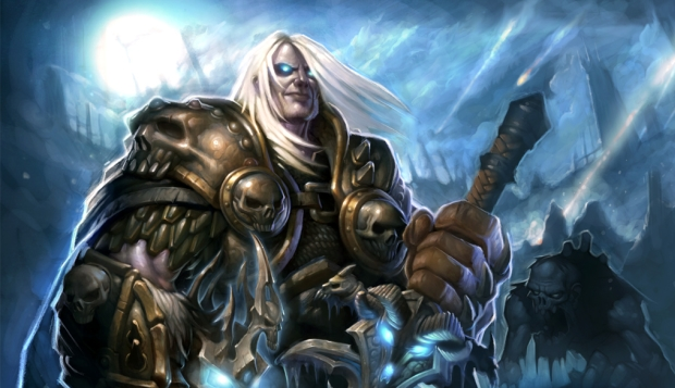 O Rei Lich na Wrath of the Lich King (Foto: Divulgação)