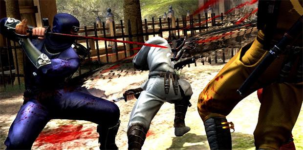 O modo multiplayer de Ninja Gaiden III em ação (Foto: Divulgação)