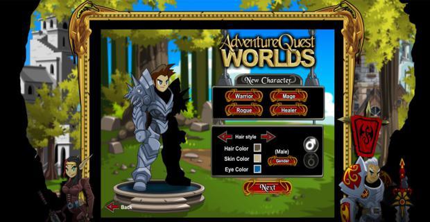 Como jogar Adventure Quest Worlds