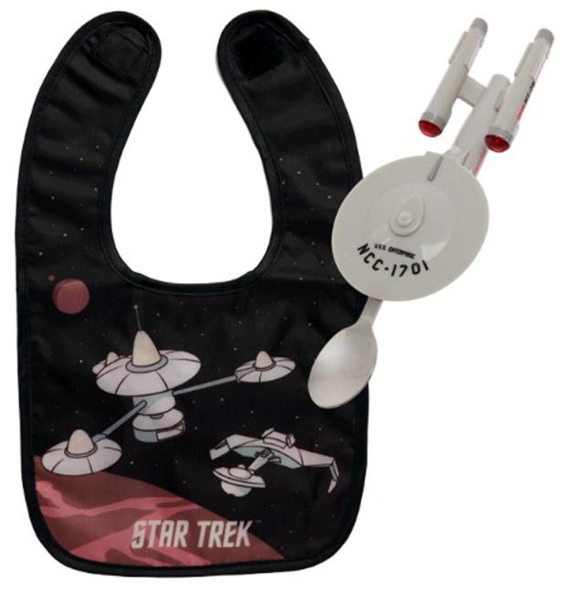 Babador e colherzinha Star Trek Enterprise  (Foto: Reprodução)