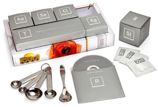 Kit de Cozinha Molecular (Foto: Reprodução)