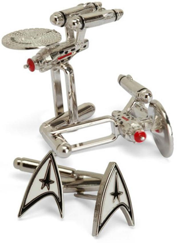 Botões de punho Star Trek (Foto: Reprodução)