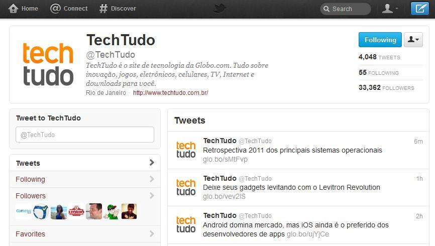 Novo Twitter (Foto: Divulgação)