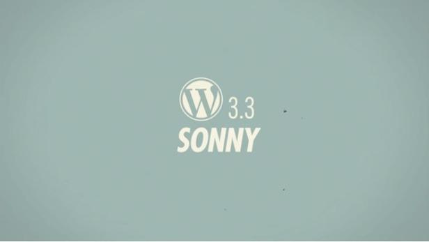 "Wordpress 3.3, codenome ""Sonny"" (Foto: Reprodução)"