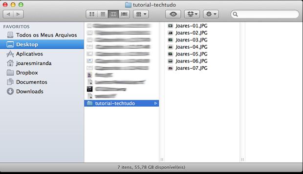 Como renomear múltiplos arquivos no Mac OS X Final