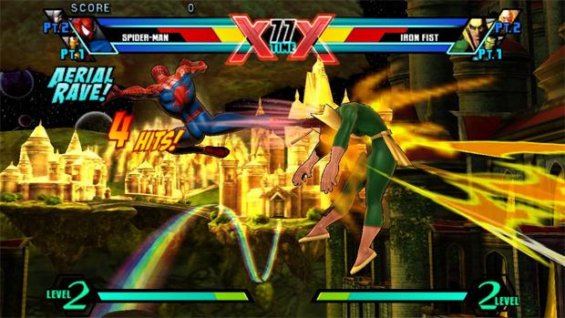 Ultimate Marvel vs. Capcom 3 no Vita (Foto: Divulgação)