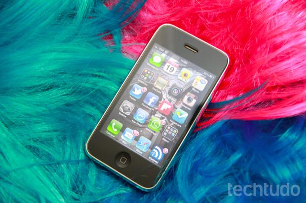 iPhone 3GS: Eleito o melhor smartphone abaixo dos R$1 mil (Foto: Allan Melo/TechTudo)