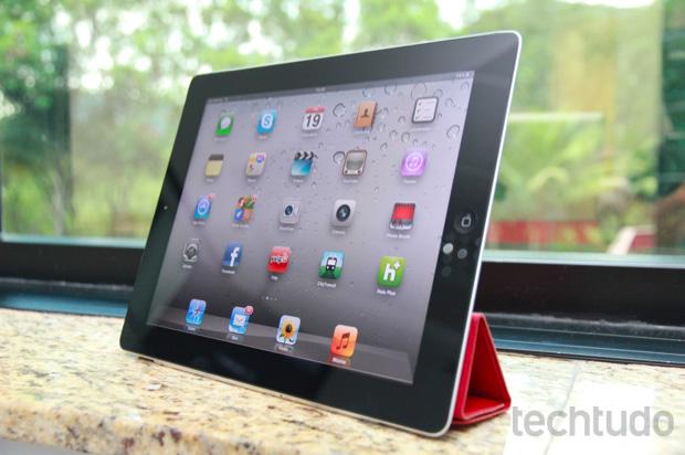 iPad 2: Eleito o melhor tablet do ano (Foto: Allan Melo/TechTudo)