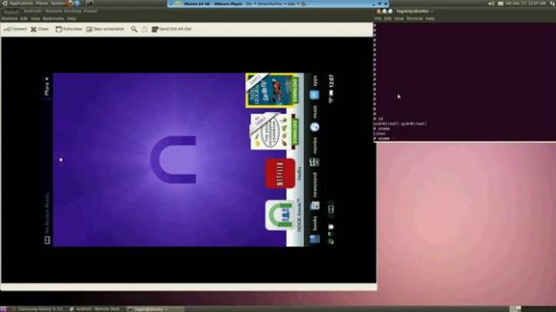 Tablet Nook com Ubuntu (Foto: Reprodução)