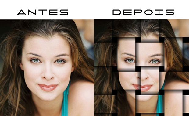 Efeito entrelaçado no Photoshop (Foto: Reprodução/Isabela Catão)