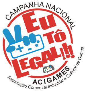Nova campanha da Acigames, contra a pirataria (Foto - Divulgação)