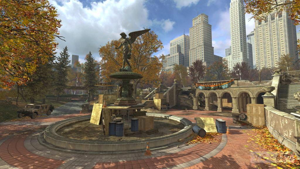 Park: novo mapa de Modern Warfare 3 (Foto: Divulgação)
