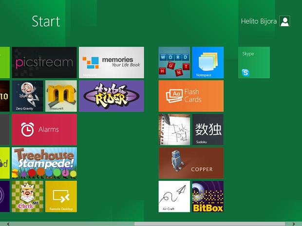 Skype no Windows 8 (Foto: Reprodução/Helito Bijora)