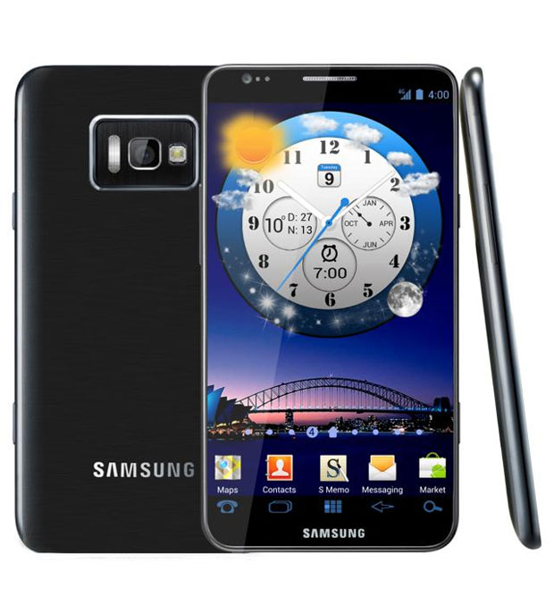 Seria esse o novo Galaxy S III (Foto: Reprodução/Concept Phones)