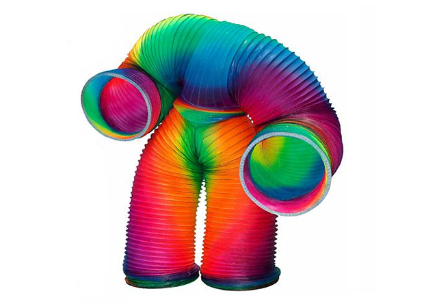 Human Slinky (Foto: Reprodução)
