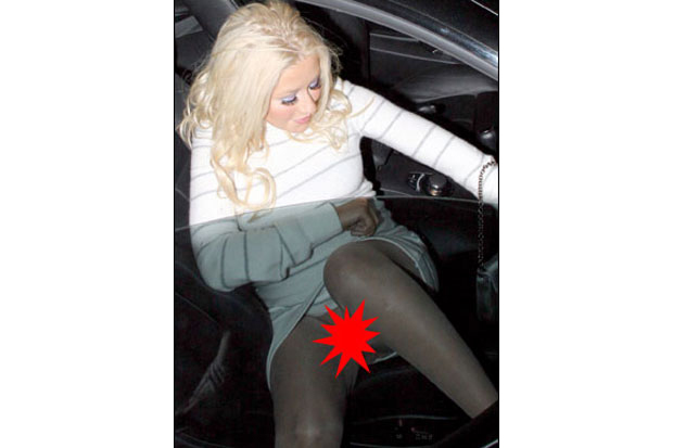 Christina Aguilera (Foto: The Sun)