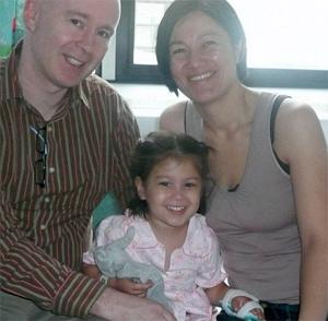 Sean Connolly e família (Foto: MailOnline)