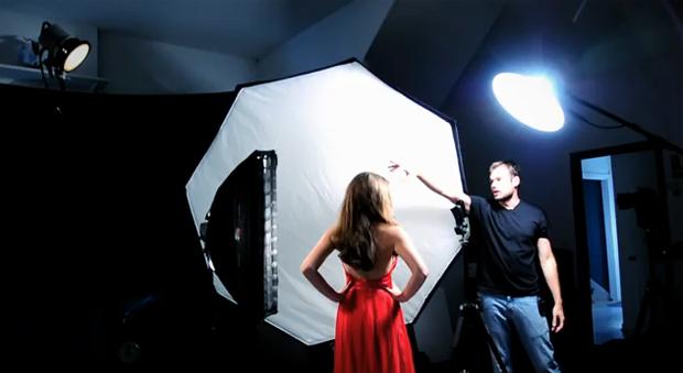 Lee Morris em ensaio de moda com iPhone 3G S (Foto: Lee Morris)