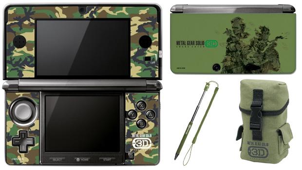 Nintendo 3DS ganhará pacote com Metal Gear Solid 3D e linha de acessórios (Foto: My Nintendo News)