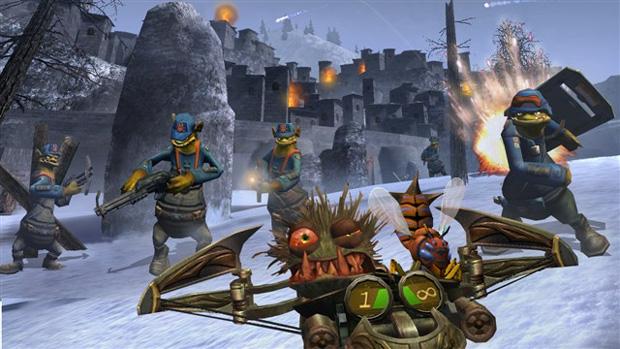 Oddworld: Stranger's Wrath HD chega à PSN e sairá também para PC e PS Vita (Foto: Divulgação)