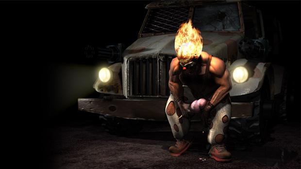 Primeiras cópias de Twisted Metal do PlayStation 3 trarão Twisted Metal Black de graça (Foto: Divulgação)
