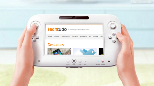 Wii U deverá ter App Store própria (Foto: Reprodução: Rafael Monteiro)