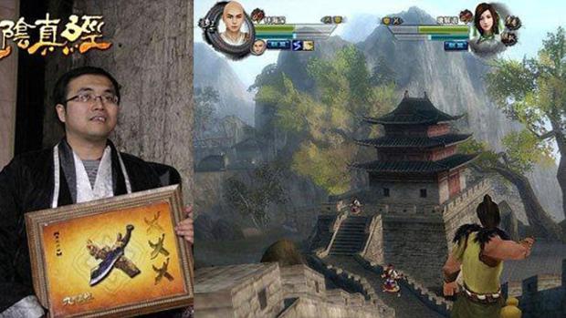 Comprador da espada de US$ 16 mil (Foto - Game Informer)