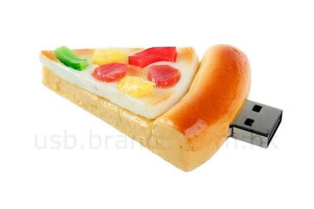Pendrive Pizza (Foto: Reprodução)