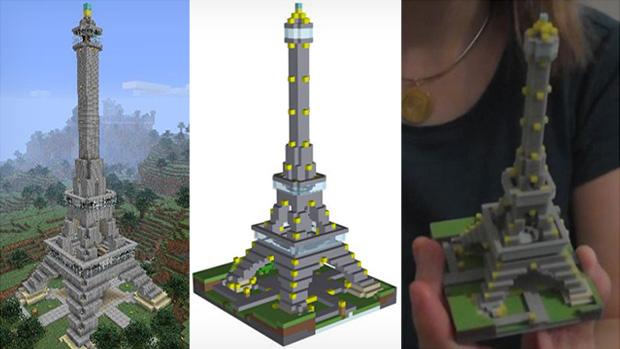 Mineways permite imprimir seus monumentos de Minecraft em 3D (Foto: The Verge)