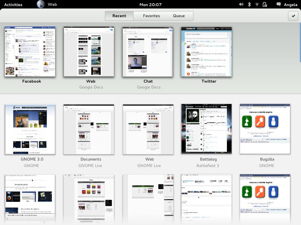 Navegador Epiphany tem interface minimalista (Foto: Reprodução/Muy Linux)