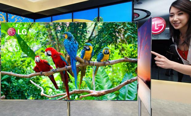 """LG OLED TV de 55"""" que será apresentada na CES 2012. (Foto: Divulgação)"""