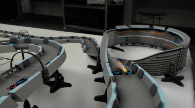 Corrida futurista inspirada em Wipeout (Foto - Reprodução)