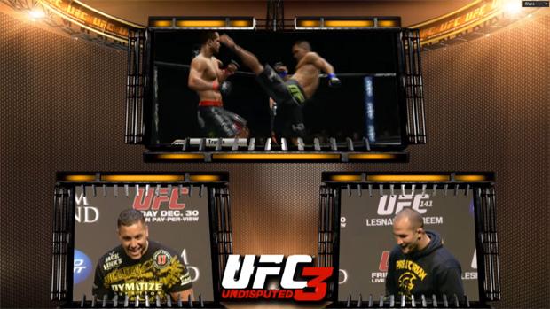 Júnior Cigano encara Pat HD Barry no UFC Undisputed 3 (Foto: Divulgação)