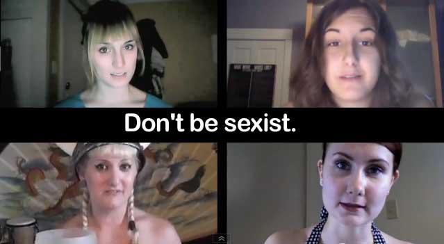 Vídeo criado por garotas gamers no YoutTube (Foto: Reprodução)