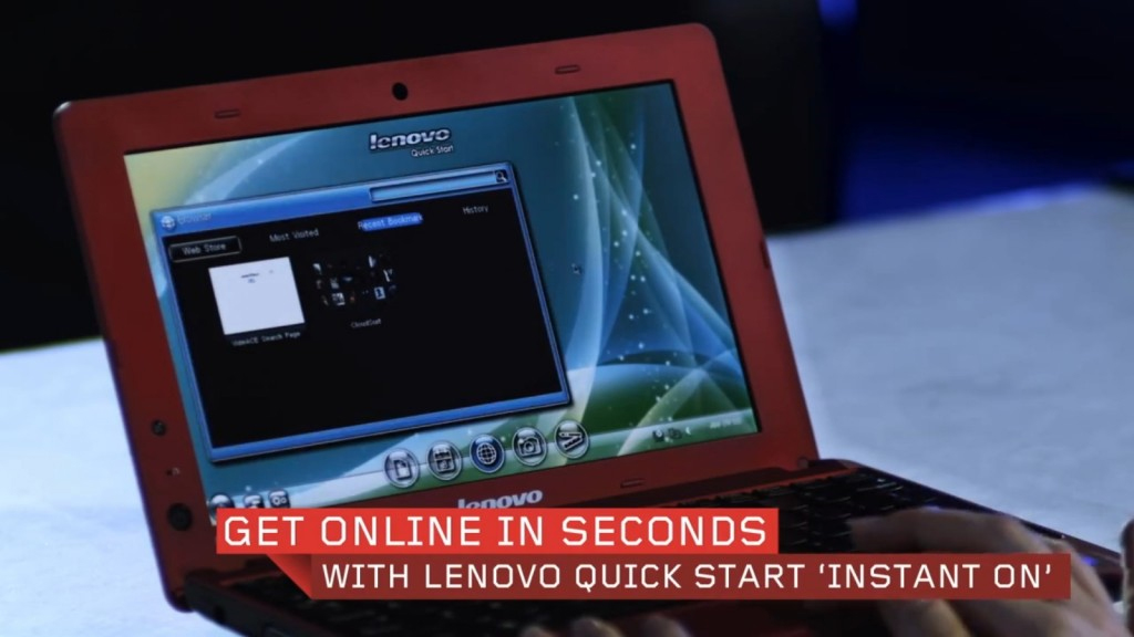 Recurso 'Instant On' permite acesso a internet antes do carregamento completo do Windows (Foto: Divulgação)